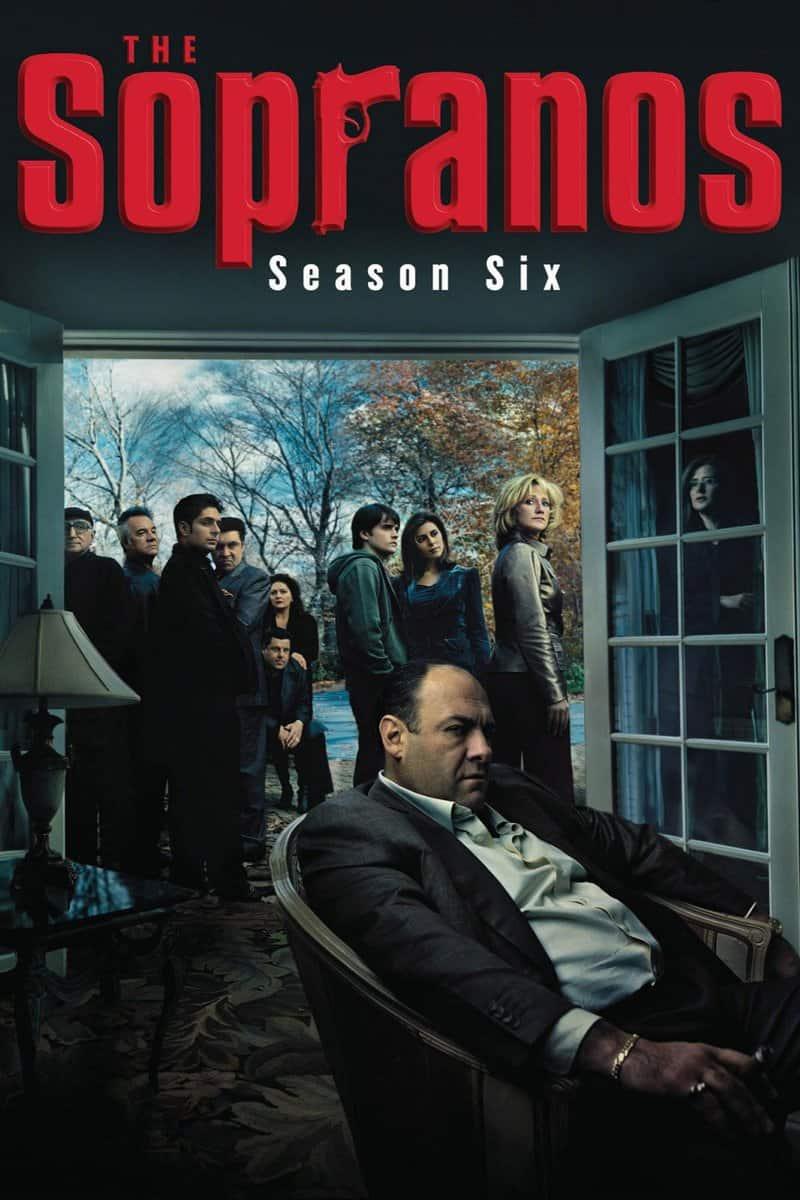 Póster de la serie Los Soprano Temporada Final 6