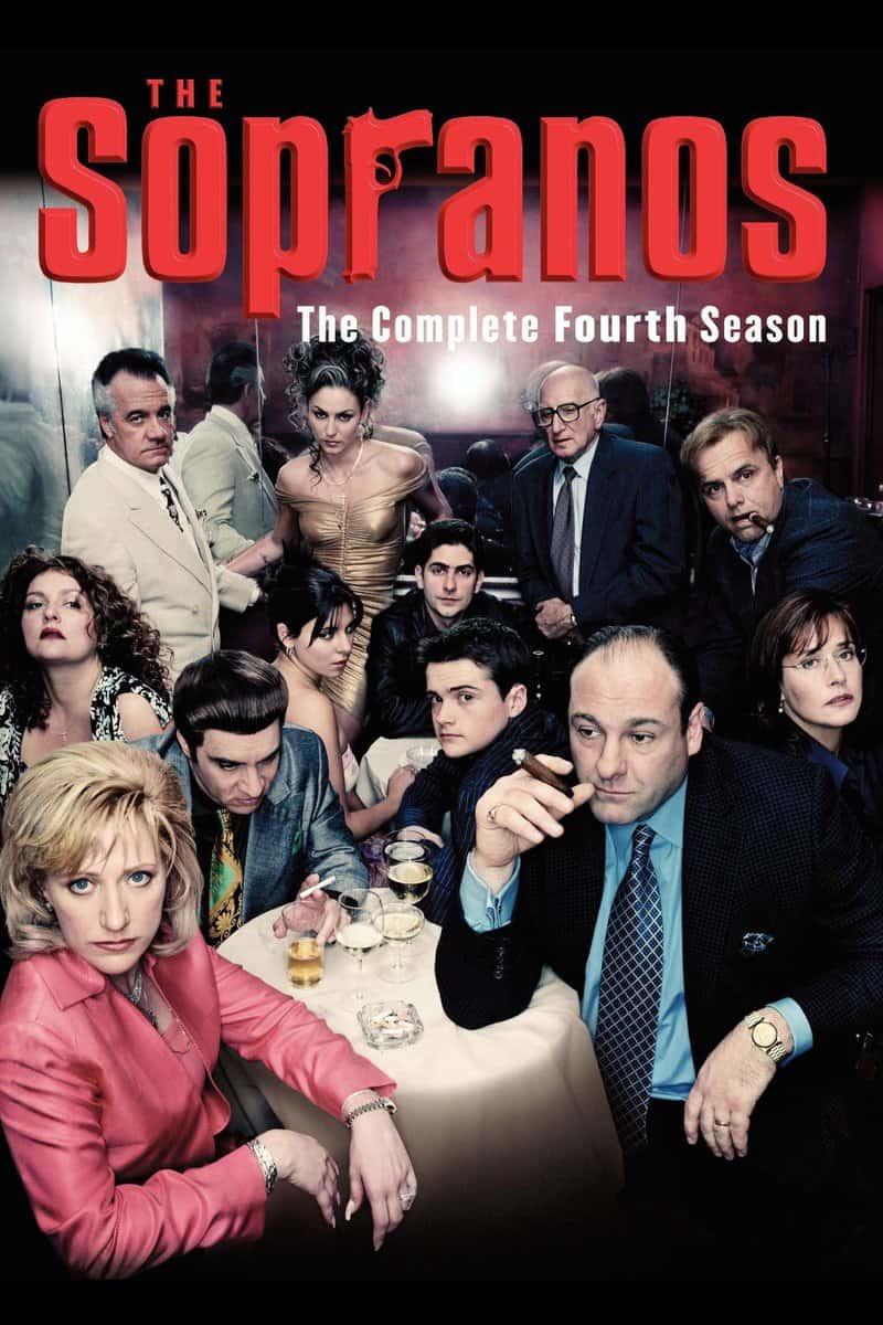 Póster de la serie Los Soprano Temporada 4