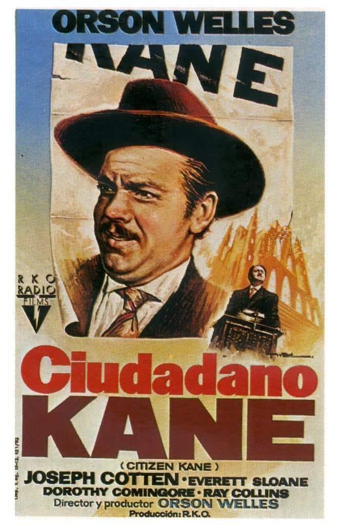 Póster de la película Ciudadano Kane