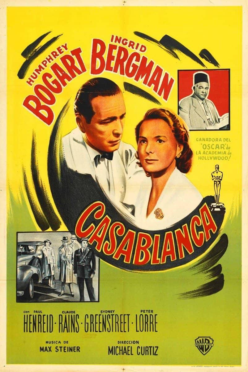 Póster de la película Casablanca