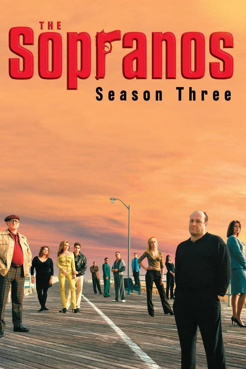 Póster de la serie Los Soprano Temporada 3