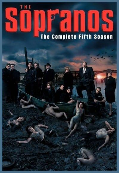 Póster de la serie Los Soprano Temporada 5