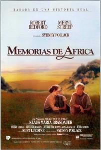 Póster de la película Memorias de África