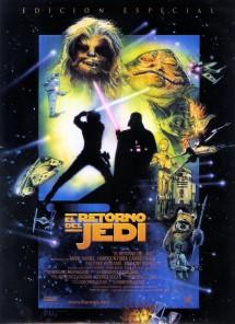 Póster de la película La guerra de las galaxias. Episodio VI: El retorno del Jedi