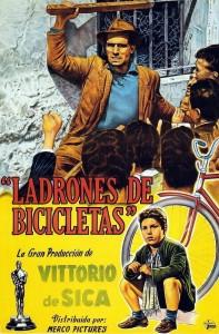Póster de la película Ladrón de bicicletas