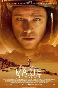 Póster de la película Marte (The martian)