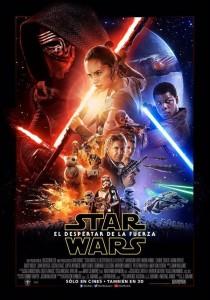 Póster de la película Star Wars: Episodio VII – El Despertar de la Fuerza