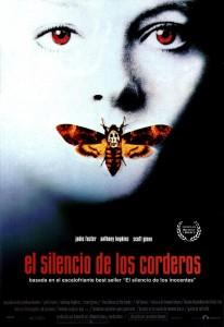 Póster de la película El silencio de los corderos