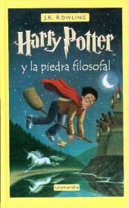 Póster del libro Harry Potter y la piedra filosofal