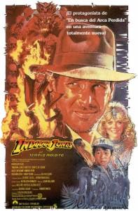 Póster de la película Indiana Jones y el Templo Maldito