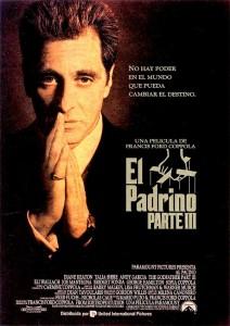 Póster de la película El Padrino. Parte III