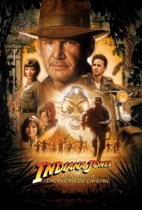 Póster de la película Indiana Jones y el reino de la calavera de cristal