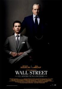 Póster de la película Wall Street: El dinero nunca duerme