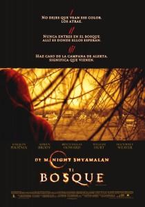 Póster de la película El bosque (2004)