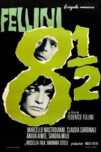 Póster de la película Fellini, ocho y medio
