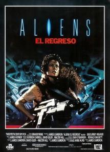 Póster de la película Aliens, el regreso