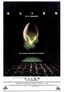 Póster de la película Alien, el octavo pasajero