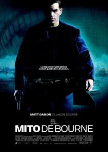 Póster de la película El mito de Bourne
