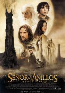 Póster de la película El señor de los anillos: Las dos torres