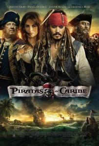Póster de la película Piratas del Caribe: En mareas misteriosas