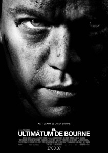 Póster de la película El ultimátum de Bourne
