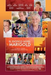 Póster de la película El exótico hotel Marigold