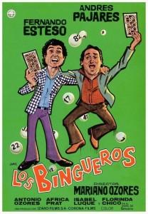 Póster de la película Los bingueros