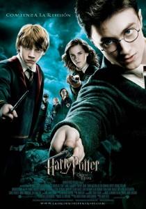 Póster de la película Harry Potter y la orden del Fénix