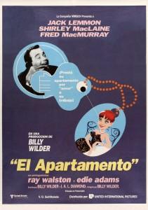 Póster de la película El apartamento