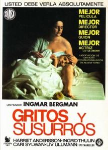 Póster de la película Gritos y susurros