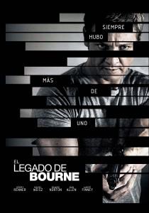 Póster de la película El legado de Bourne