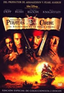 Póster de la película Piratas del Caribe. La maldición de la Perla Negra