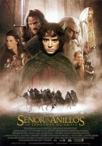 Póster de la película El señor de los anillos: La comunidad del anillo