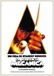 Póster de la película La naranja mecánica