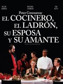 Póster de la película El cocinero, el ladrón, su mujer y su amante