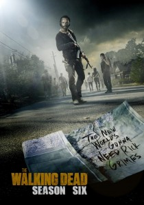 Póster de la serie The Walking Dead 1ª parte (1-8) Temporada 6