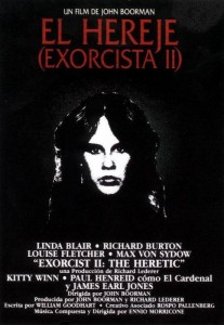 Póster de la película El exorcista II: El hereje