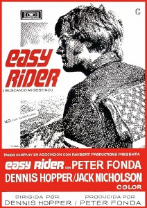 Póster de la película Easy Rider (buscando mi destino)