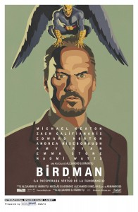 Póster de la película Birdman (o la inesperada virtud de la ignorancia)