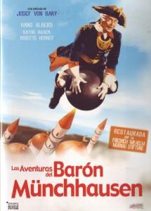 Póster de la película Las aventuras del Barón de Munchausen