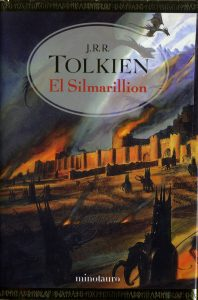 Póster del libro El Silmarillion