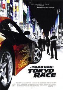 Póster de la película A todo gas: Tokyo Race