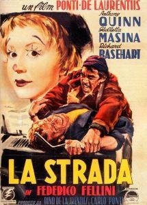 Póster de la película La Strada