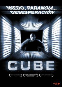 Póster de la película Cube