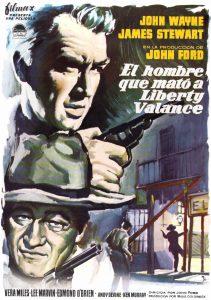 Póster de la película El hombre que mató a Liberty Valance