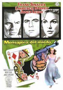 Póster de la película El mensajero del miedo (1962)