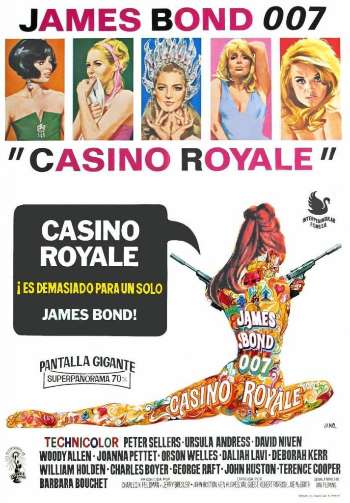 La Pelicula Casino Royale 1967 El Final De