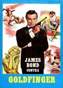 Póster de la película James Bond contra Goldfinger