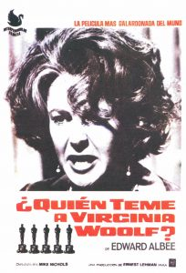 Póster de la película ¿Quién teme a Virginia Woolf?