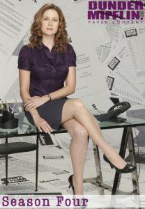 Póster de la serie La Oficina (The office) Temporada 4